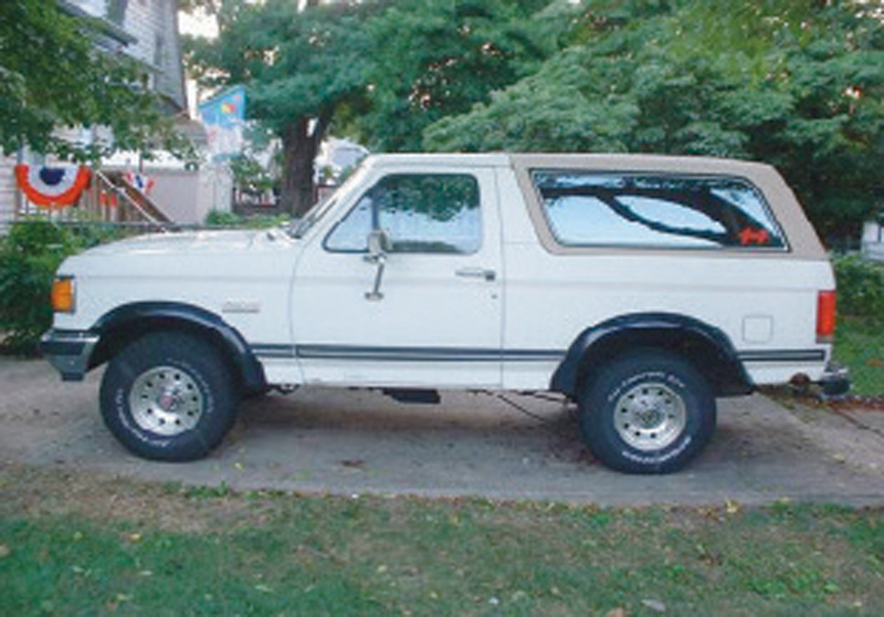 Ford Bronco for Bronco Video Series